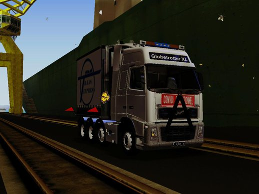 Volvo FH 16 660 8x4 Convoy Heavy Weight