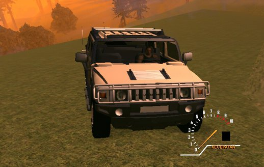 Hummer H2 Alpha Only Dff