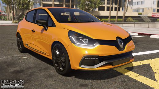 gta 5 renault clio iv rs 2013 add on replace tuning. Black Bedroom Furniture Sets. Home Design Ideas
