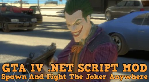 Spawn And Fight The Joker Anywhere [.NET] v1.00