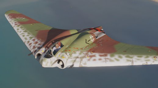 Horten Ho-229 (WWII Stealth Jet) [Add-On]