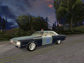 Plymouth Fury - Massachusetts State Police