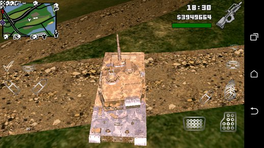 GTA V Rhino Tank Only dff For Android