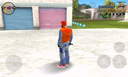 Cool Claude For GTA 3 MOBILE
