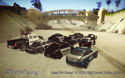 Need For Speed 14 SCPD High Speed Police Series