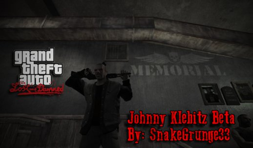 Johnny Klebitz Beta for GTA TLAD (Version 1.0)