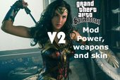 Wonder Woman Powers And Weapons Mod Ver2