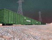 Evergreen Box Cars V1