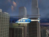 Bell 206 NYPD Helicopter