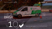 Portuguese Brisa - Highway Assistance - Mercedes-Benz Vito [Add-On] v1.0