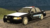 2009 Ford Crown Victoria Airport Police