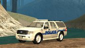 2013 Ford Expedition San Andreas Waterways Police Department