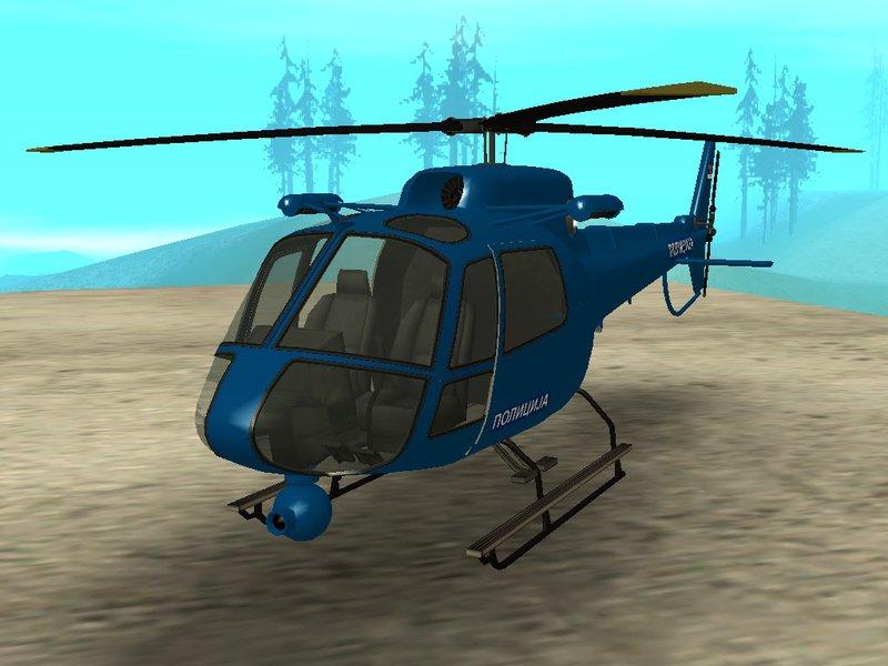 srpski policijski helikopter - Helicopter Mod