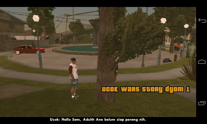 GTA San Andreas Ucok Wars Story 1 (For Android) Mod