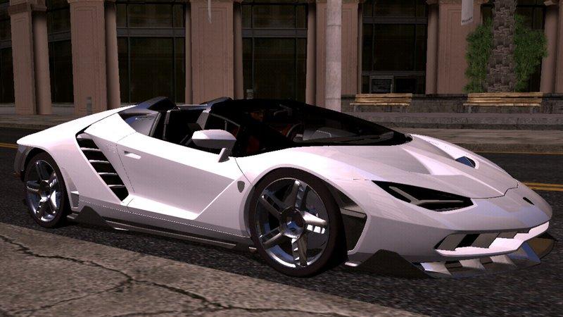 Gta San Andreas Lamborghini Centenario Roadster Mod Gtainside Com