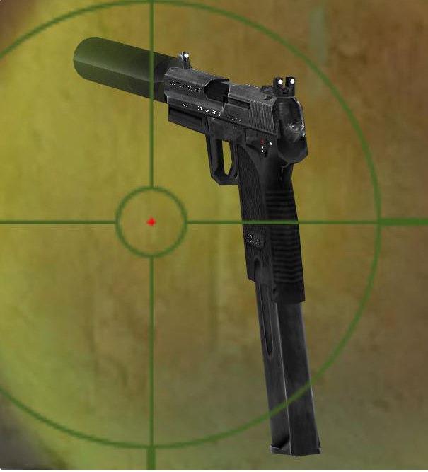 GTA San Andreas H&K USP Tactical  45 ACP Mod - GTAinside com