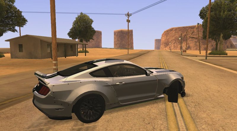 Gta San Andreas Ford Mustang 2015 Need For Speed Payback Edition