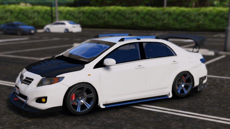 Gta 5 2010 Toyota Corolla Altis Xel Add On Tuning Mod