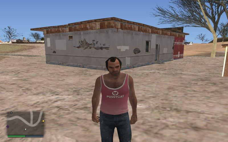 GTA San Andreas GTA V: Ammunation from Sandy Shores for GTA: SA Mod