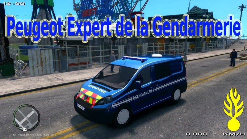GTA 4 Peugeot Expert Gendarmerie 2017 Mod - GTAinside com