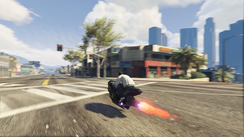 GTA 5 Turbo Hoverbike [Add-On/replace] Mod - GTAinside com