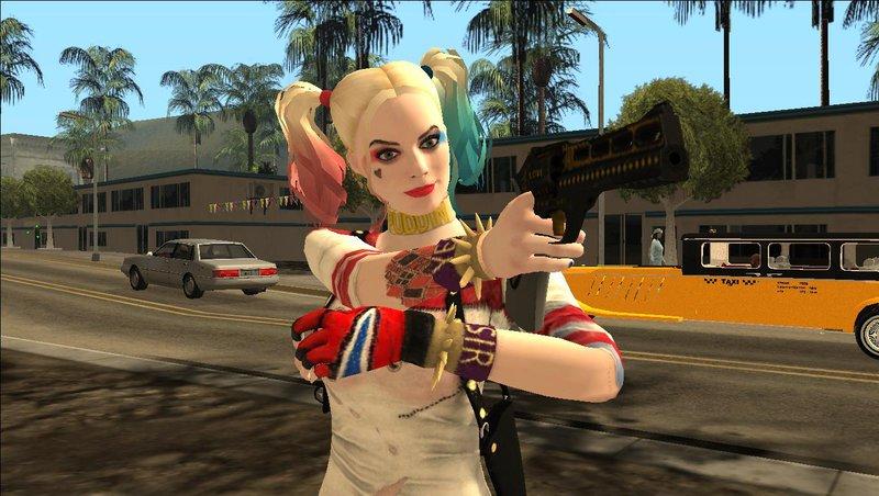 San Diego Ford >> GTA San Andreas Harley Quinn Pistol Mod - GTAinside.com
