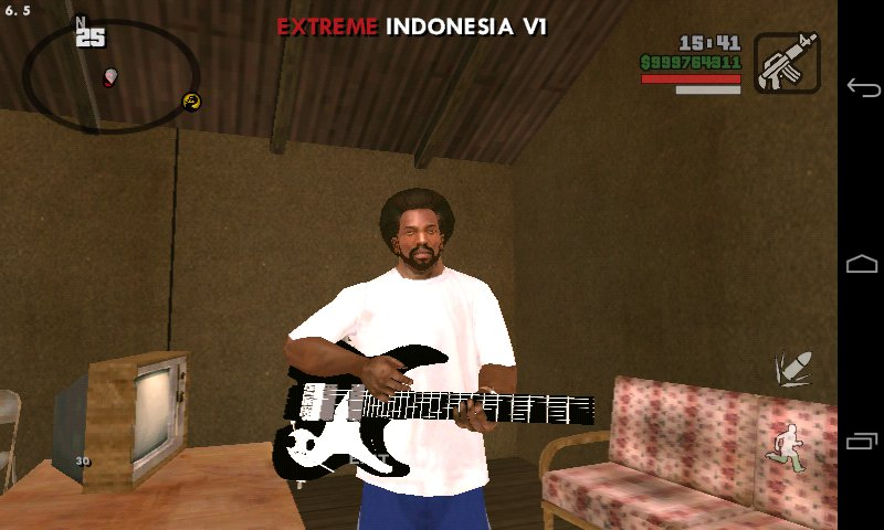 GTA San Andreas New Guitar Bass No Import For Android Mod