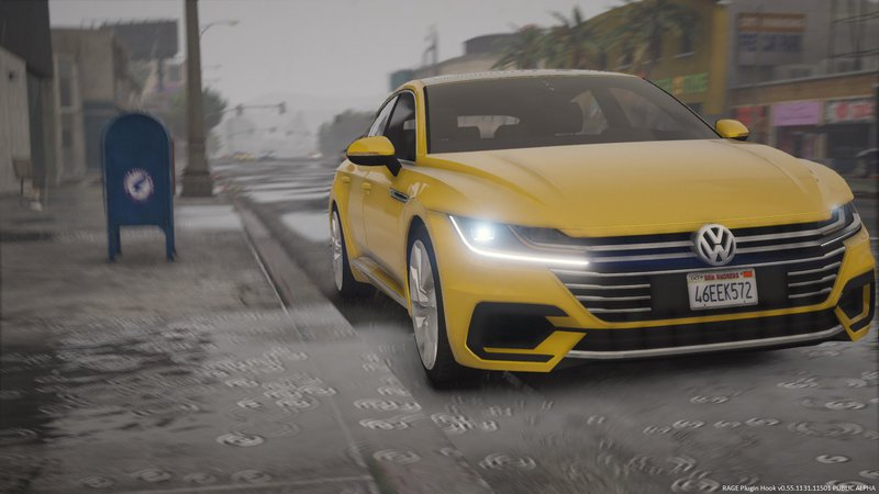 Gta 5 2018 Volkswagen Arteon Sedan Replace Mod