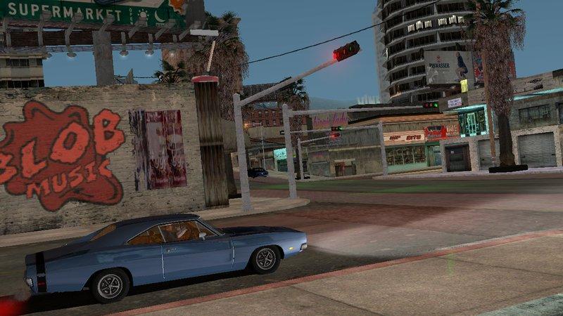 GTA San Andreas GTA IV Textures for Los Santos GTA SA Android Mod