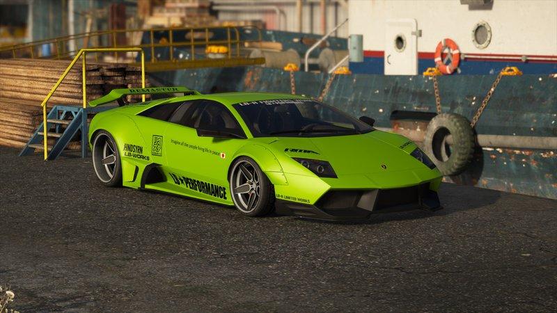 Gta 5 2010 Lamborghini Murcielago Lp670 4 Liberty Walk Mod