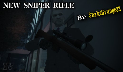 New Sniper Rifle Texture (Version 1.0)