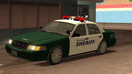 2010 Ford Crown Victoria Flint County Sheriff's Office
