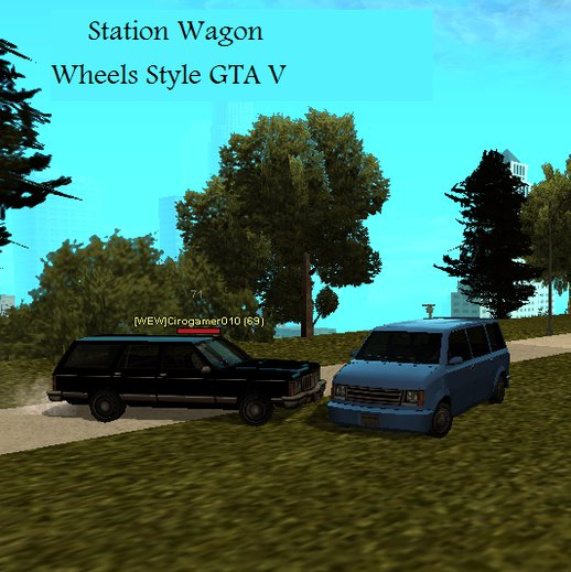 Station Wagon (Wheels Style GTA V)