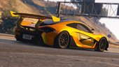 McLaren P1 GTR Road Legal [Add-On / Replace]