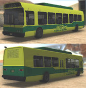 GTA V Brute Bus / Airport