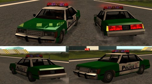 Vice City Police Car (remastered)
