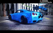 Nissan GT-R R35 Liberty Walk [Add-On / Replace]