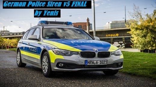 German Police Siren v5 FINAL