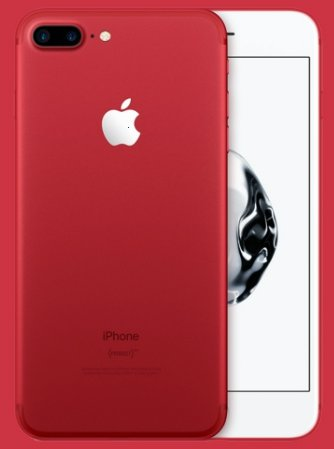 iPhone 7 Red Plus Special Edition