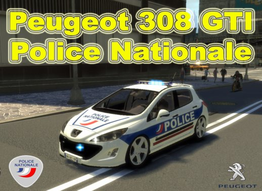 Peugeot 308 Gti Police Nationale