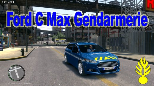 Ford CMax 2013 Gendarmerie Nationale