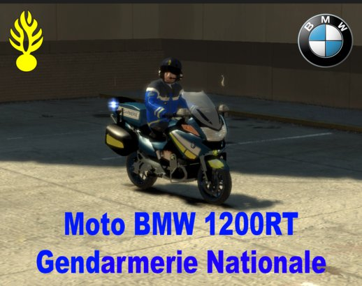 BMW 1200 RT Gendarmerie