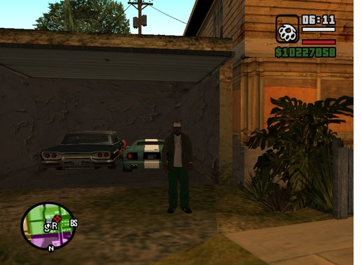Sweet's Girl GTA SA Save Game