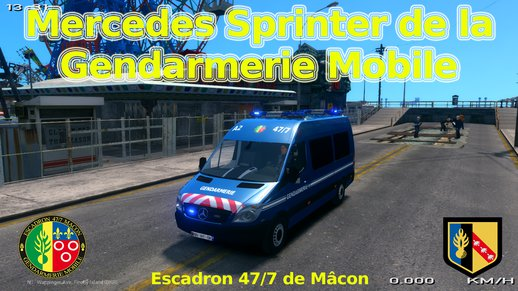 Mercedes Sprinter Gendarmerie Mobile 47/7