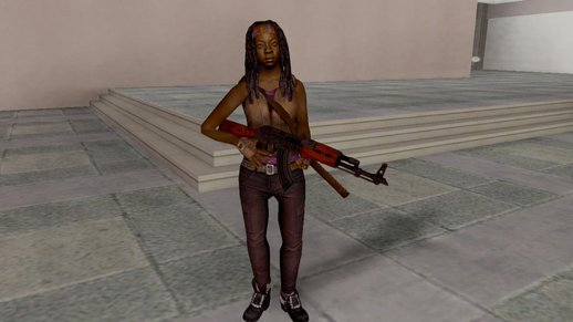 The Walking Dead No Mans Land Michonne