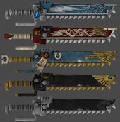 W40K: Deathwatch Chain Swords