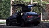 Tesla Model X P90D 2016[Add-on/Replace][Wipers|Spoiler] HQ