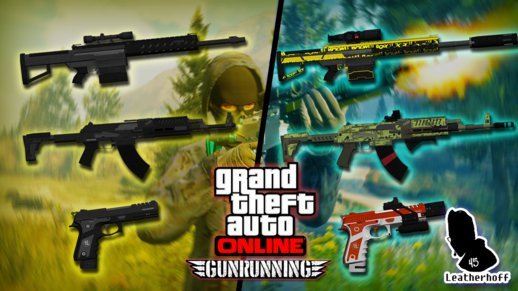 Gunrunning DLC Weapon Pack