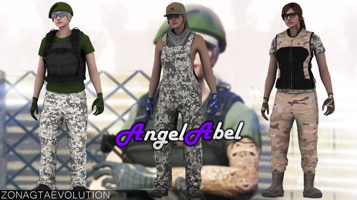 Gun Running Skin Pack Female