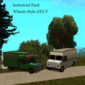 Industrial Pack (Wheels Style GTA V)